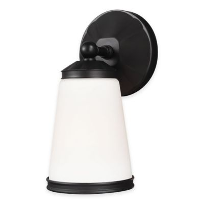 Feiss® Eastwood 1-Light Wall Sconce in Oil Rubbed Bronze with LED Bulb