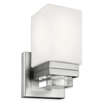 Feiss® Maddison 1-Light Sconce in Satin Nickel