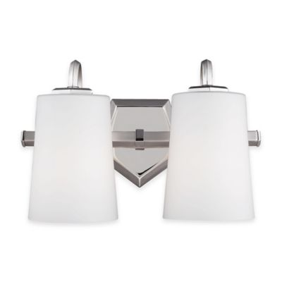 Feiss® Pentagram 2-Light Vanity Light