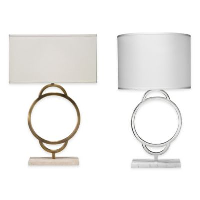 Jamie Young Arc Table Lamp in Nickel