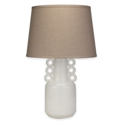 Jamie Young Circus Table Lamp in White