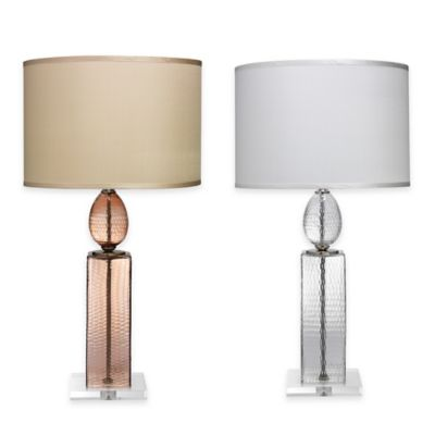 Jamie Young Imperial Table Lamp in Clear