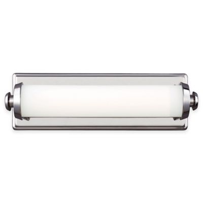 Feiss® Edgebrook 15-Inch LED 1-Light Wall Sconce in Satin Nickel