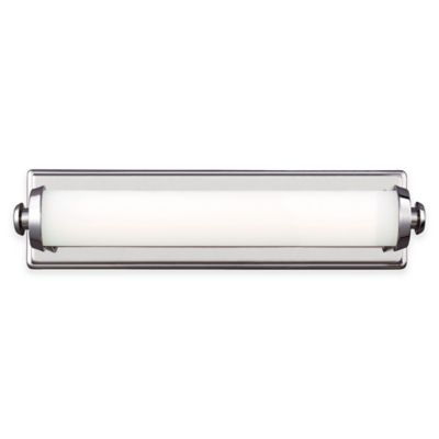 Feiss® Edgebrook 18-Inch LED 1-Light Wall Sconce in Polished Nickel