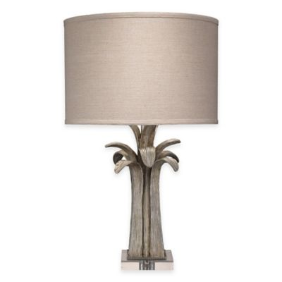 Jamie Young Bayou Table Lamp in Silver