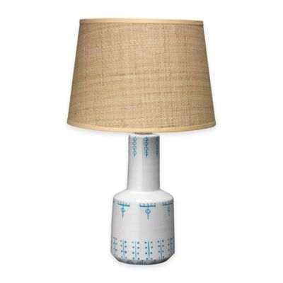 Jamie Young Berber White Table Lamp