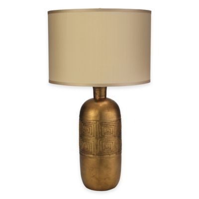 Jamie Young Kronos Table Lamp in Gold