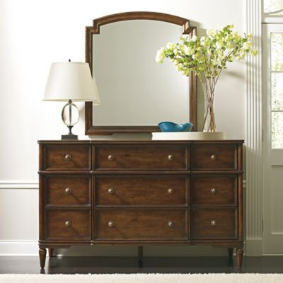 Stanley Furniture Vintage Bedroom Dresser in Brown