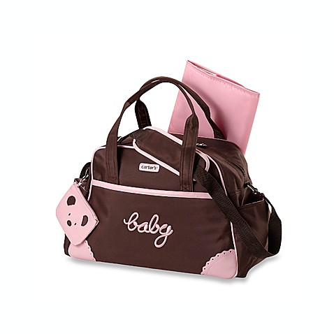 carters keep me organized brown pink diaper bag buybuy baby. Black Bedroom Furniture Sets. Home Design Ideas