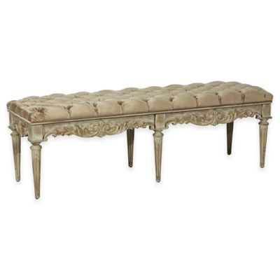 Pulaski Nuille Accent Bench in Tan