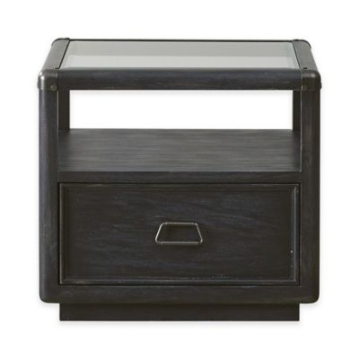 Pulaski Vintage Tempo End Table in Charcoal