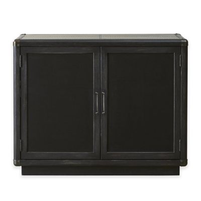 Pulaski Furniture Vintage Tempo Bar and Wine Cabinet in Charcoal