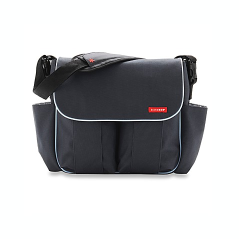 SKIP*HOP® Dash Deluxe Edition Diaper Bag in Charcoal