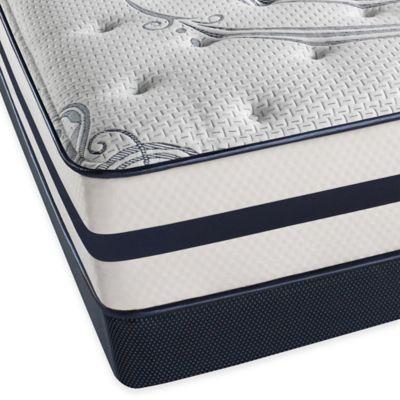 Beautyrest® Recharge® Windchase Plush Low Profile Full Mattress Set
