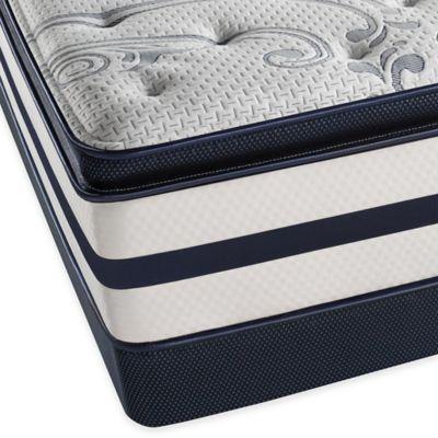 Beautyrest® Recharge® Windchase Plush Pillow Top Low Profile Full Mattress Set