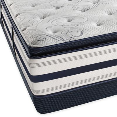 Beautyrest® Ultra Carramore Plush Pillow Top Low Profile Twin Mattress Set