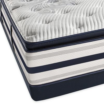 Beautyrest® Ultra Kildaire Park Plush Pillow Top Low Profile King Mattress Set