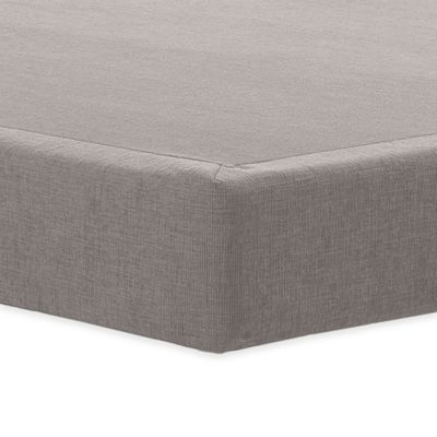 "TEMPUR-PEDIC® TEMPUR-Flat™ 9"" High Profile Twin Foundation in Grey"