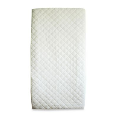 BE Basic™ Waterproof Quilted Cotton Crib Mattress Pad