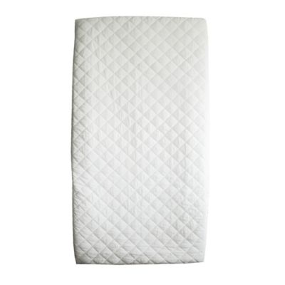 BE Basic™ 2-Pack Waterproof Quilted Cotton Crib Mattress Pad