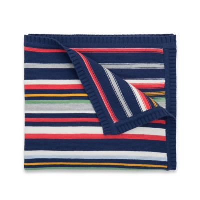 Elegant Baby Striped Blanket