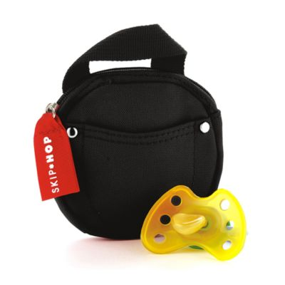 SKIP*HOP® Pacifier Pocket in Black