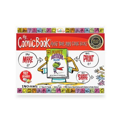 My Comic Book® Make Your Own Comic Book