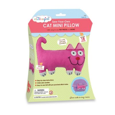 My Studio Girl™ Sew-Your-Own Cat Mini Pillow