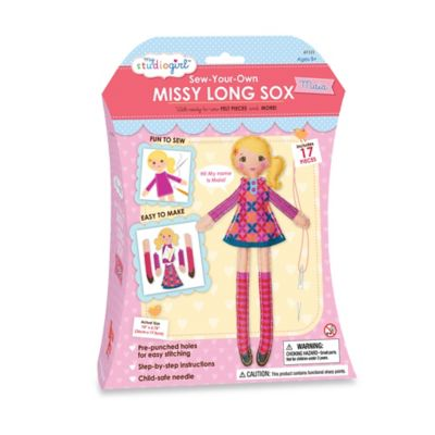 My Studio Girl™ Sew-Your-Own Miss Long Sox - Maia (Blonde)