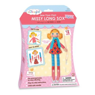 My Studio Girl™ Sew-Your-Own Missy Long Sox Lydia
