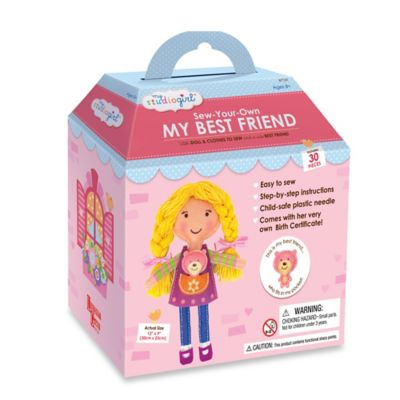 My Studio Girl™ Sew-Your-Own My Best Friend - Blonde