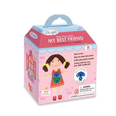 My Studio Girl™ Sew-Your-Own My Best Friend in Brunette