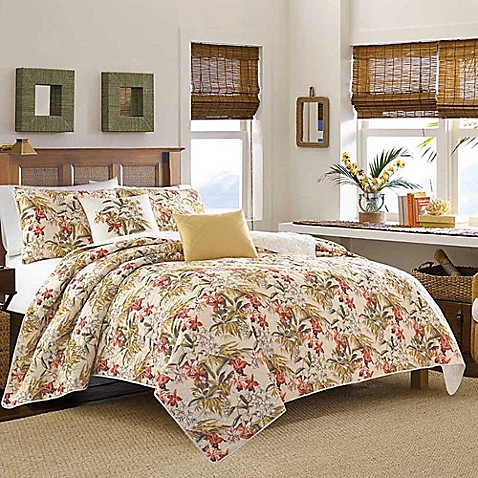 Buy Tommy Bahama 174 Daintree Tropic King Quilt From Bed Bath