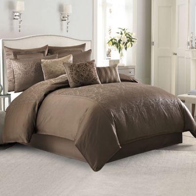 Manor Hill® Sienna Full/Queen Duvet Cover Set in Mocha