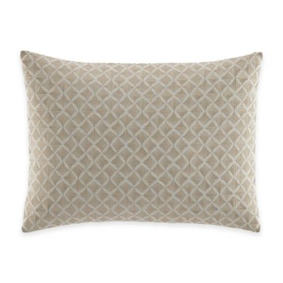 Tommy Bahama® Mangrove Embroidered Breakfast Throw Pillow in Neutral