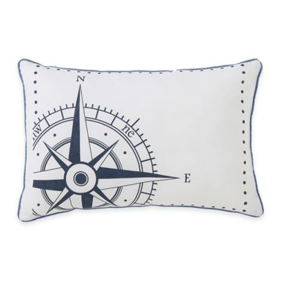 Victoria Classics® Durham Compass Oblong Throw Pillow