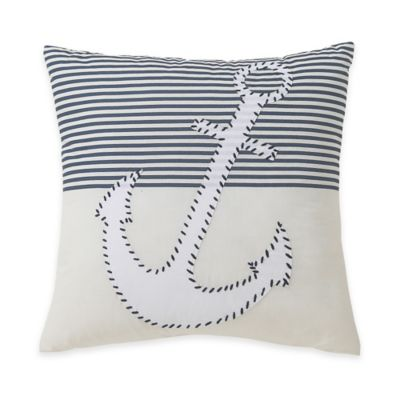 Victoria Classics® Durham Anchor Square Throw Pillow