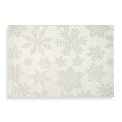 Waterford® Linens Snowflake Placemat in Gold