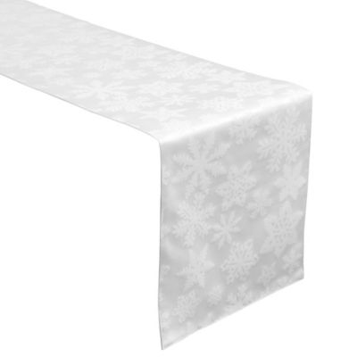 Waterford® Linens Snowflake Table Runner in Gold
