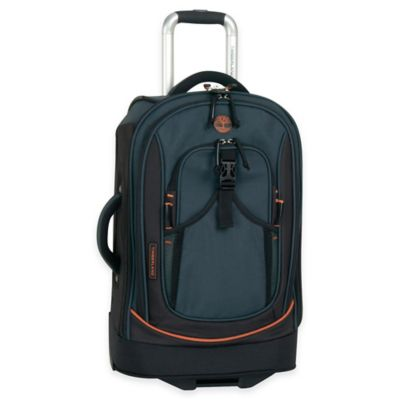 Black/Orange Luggage Carry Ons