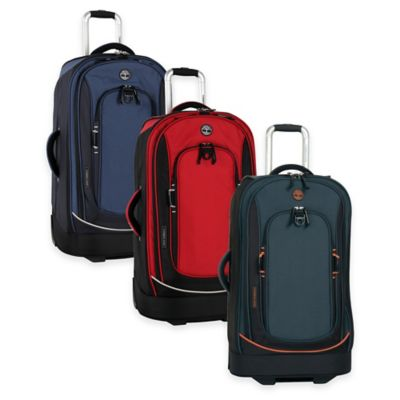 Red Black Rolling Suitcase