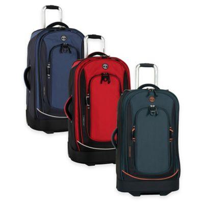 Black Orange Rolling Suitcase