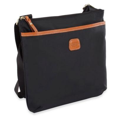Bric's X-Bag Urban Envelope Cross Body Bag in Balck