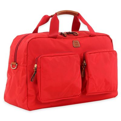 Bric's X-Travel X-Bag 18-Inch Boarding Duffle Bag in Red