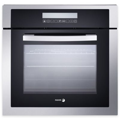 Fagor 24-Inch Drop Down Built-In Convection Oven in Stainless Steel/Black