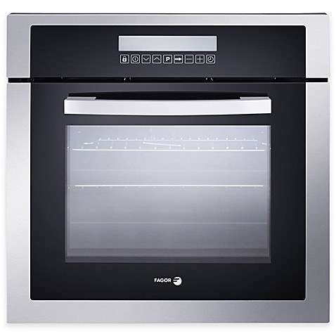 Buy fagor 24 inch drop down built in convection oven in for 24 inch built in microwave stainless steel