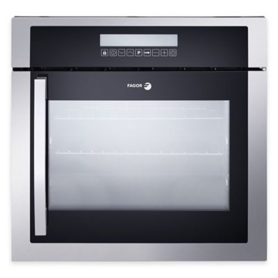 Fagor 24-Inch Right Side Opening Built-In Convection Oven in Stainless Steel/Black