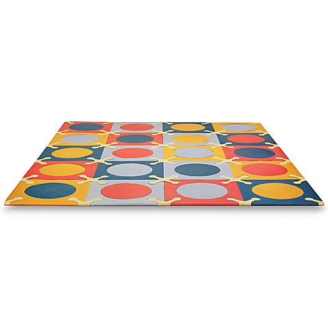 SKIP*HOP® Playspot Brights Interlocking Foam Tiles