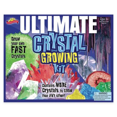 Scientific Explorer® Ultimate Crystal Growing Kit