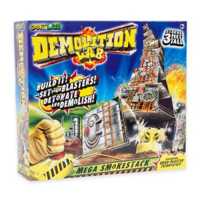 Demolition Lab Mega Smokestack